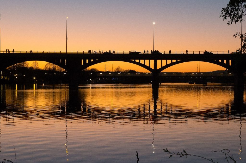 austin, texas, bridge